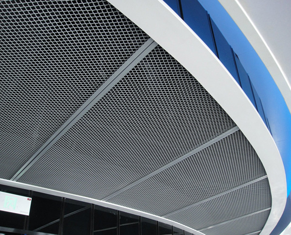 拉网铝单板天花吊顶
