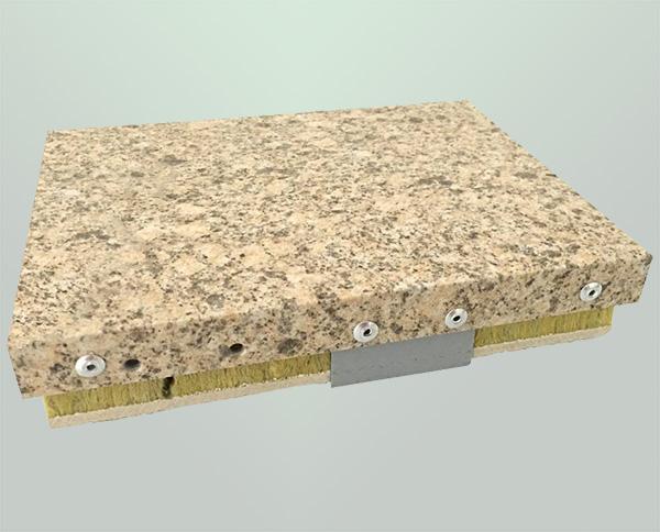 仿石材铝单板保温板